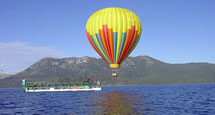 Hot Air Balloon Rides Lake Tahoe