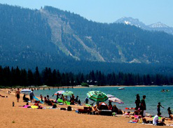 Nevada Beach Lake Tahoe