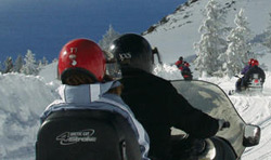 Lake Tahoe Snowmobile Tours