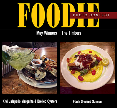 May Foodie Photo Winners - The Timbers
