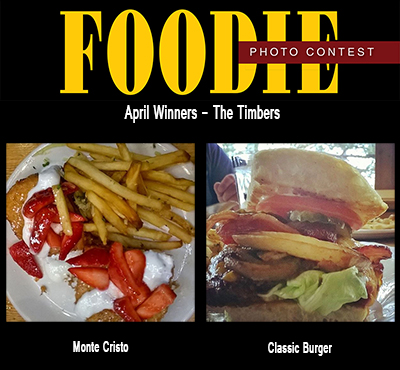 April Foodie Photo Winners