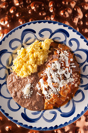 $4.99 chilaquiles breakfast special